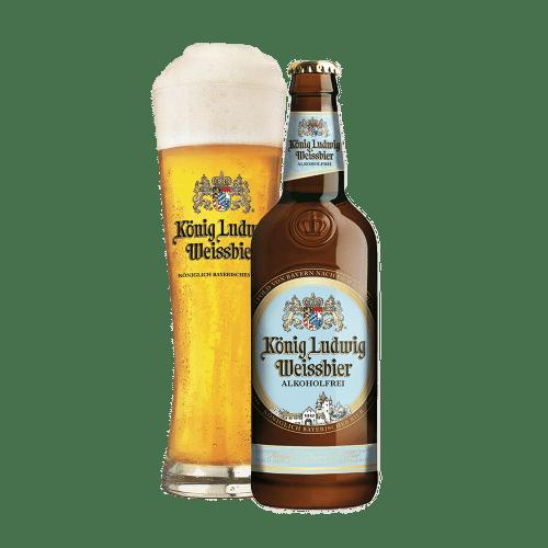König Ludwig Weissbier alcohol-free